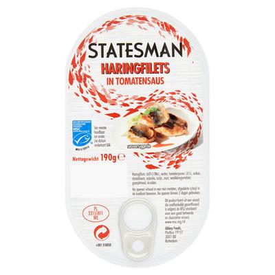 Statesman Haringfilets in tomatensaus MSC