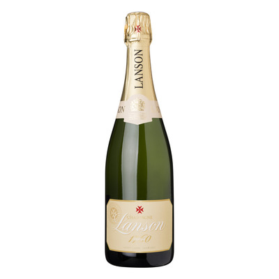 Lanson Champagne ivory label demi-sec