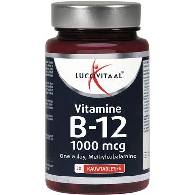 Lucovitaal Vitamine B12 1000 mcg kauwtabletten