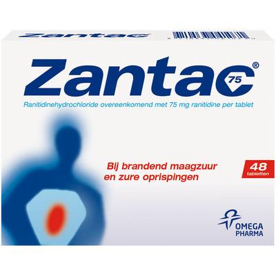Zantac Tablets 75 mg