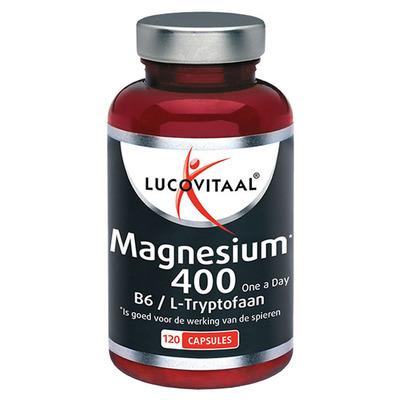Lucovitaal Magnesium 400 mg, B6 & L-tryptofaan