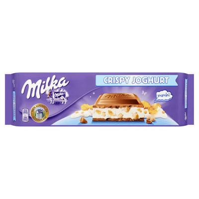 Milka Crispy yoghurt