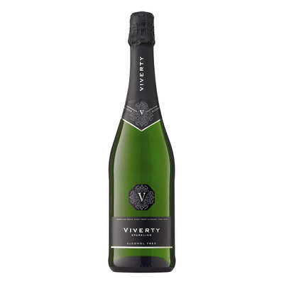 Viverty Sparkling wit alcoholvrij