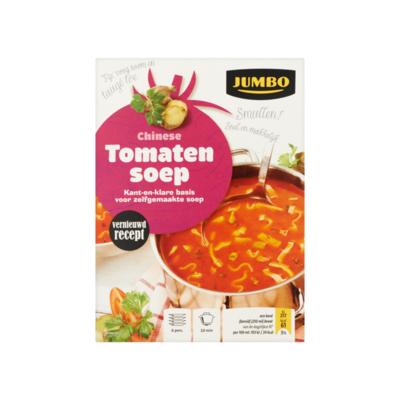 Huismerk Chinese Tomatensoep