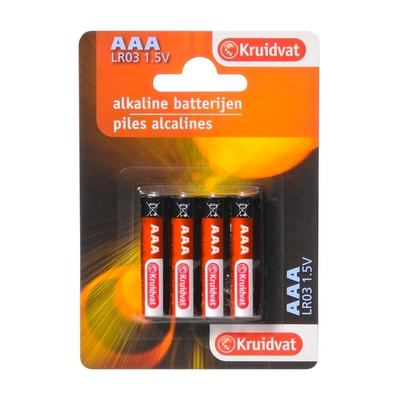 Kruidvat AAA Penlite Alkaline Batterijen