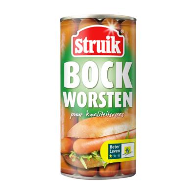 Struik Bockworsten 8 stuks