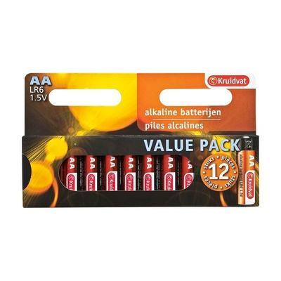 Kruidvat AA Penlite Alkaline Batterijen