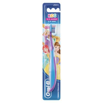 Oral-B Manuele Tandenborstel voor Kinderen met Prinsessen of Cars-figuren