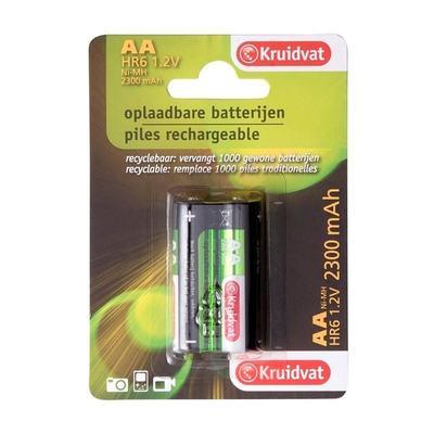 Kruidvat Ultra 2300 AA Oplaadbare Batterijen