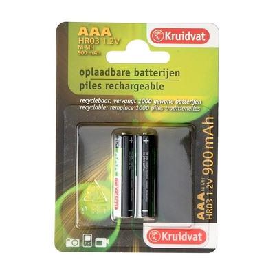 Kruidvat Ultra 1000 AAA Oplaadbare Batterijen