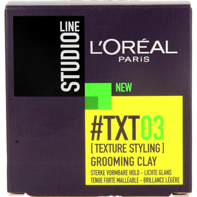 L'Oréal Studio Line #TXT03 (Texture Styling) Grooming Clay