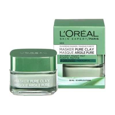 L'Oréal Paris Pure Clay Zuiverend Masker