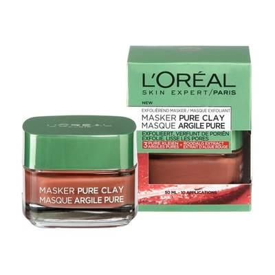 L'Oréal Paris Pure Clay Gladmakend Masker