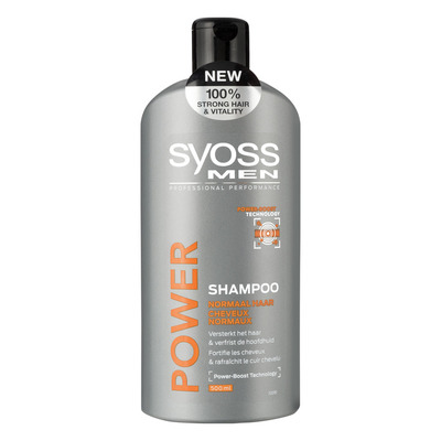 Syoss Shampoo power & strength