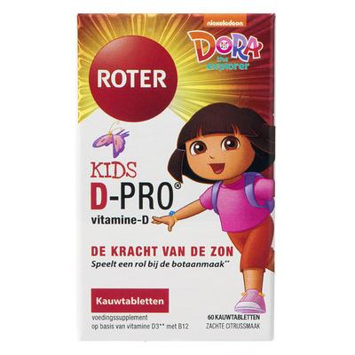 Roter Kids D-pro kauwtabletten citrus