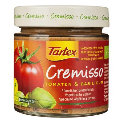 Tartex Cremisso spread tomaten basilicum