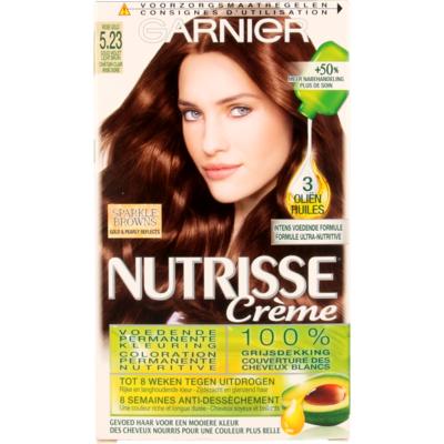 Garnier Nutrisse Crème 5.23 Goud Violet Lichtbruin