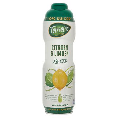 Teisseire Citroen-limoen 0% suiker
