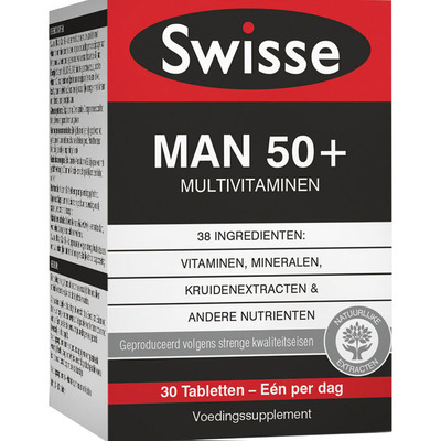 Swisse Ultivite man 50+ tabletten