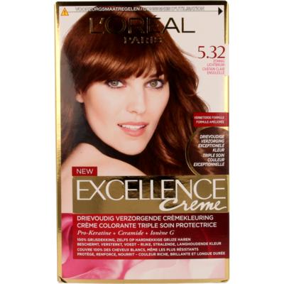 L'Oréal Paris Excellence Crème – 5.32 Zonnig Lichtbruin