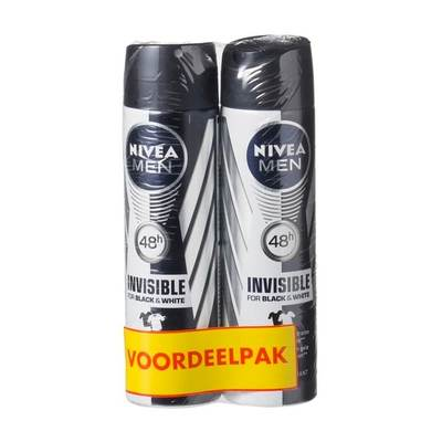 Nivea Men Invisible For Black & White Deodorant Spray