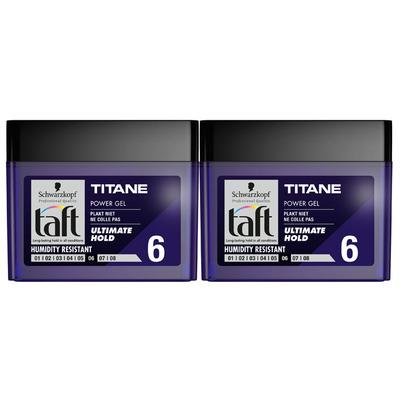 Taft Power gel titane 6 duo pot