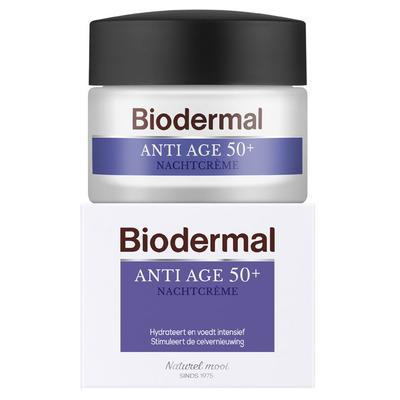 Biodermal Anti-age 50+ nachtcrème