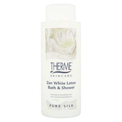 Therme Skincare Zen White Lotus Bath & Shower Pure Silk