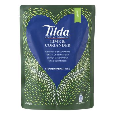 Tilda Lime-coriander steamed basmati rice