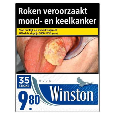 Winston Blue Box 35 Stuks