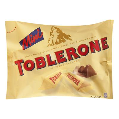 Toblerone Mini repen melk honing amandel