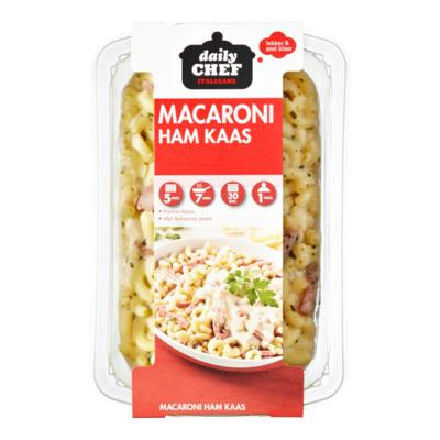 Huismerk Macaroni ham/kaas
