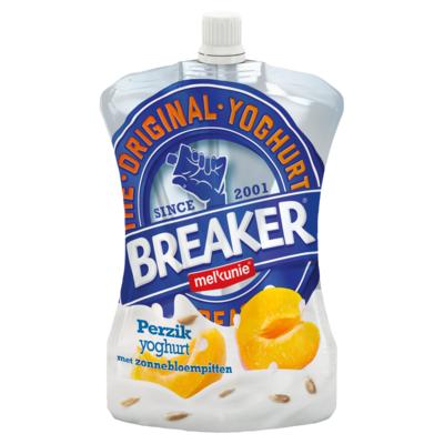 Melkunie Perzik Yoghurt met Zonnebloempitten 200 g