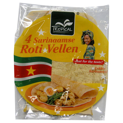 Tropical Surinaamse roti vellen