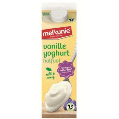Melkunie Vanilleyoghurt Halfvol 1l