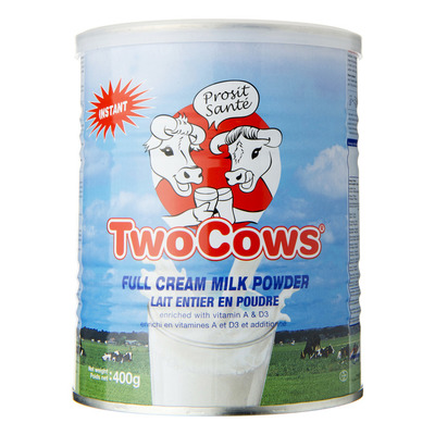 Two cows Melkpoeder