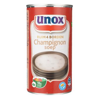 Unox Soep in blik champignonsoep
