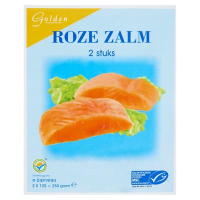 Golden Wilde Zalm 2x125 gram