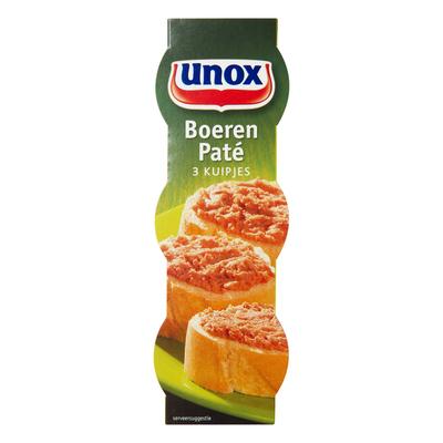 Unox Vleeswaren boeren paté