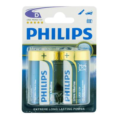 Philips Ultra Life Mono D Batterijen