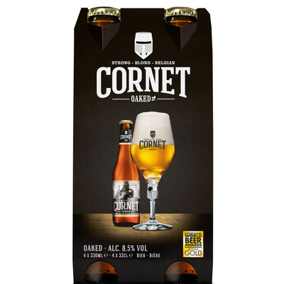 Cornet Sterk blondbier eiken 8.5%