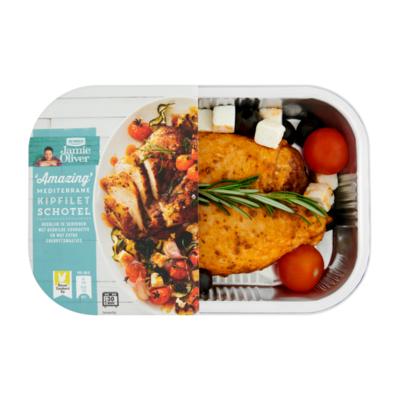 Jumbo Nieuwe Standaard Kip Jamie Oliver 'Amazing' Mediterrane Kipfilet Schotel