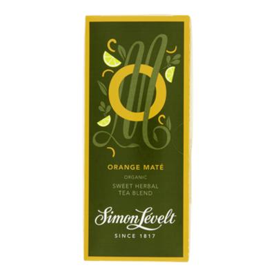 Simon Lévelt Theebuil orange mate 1-kops