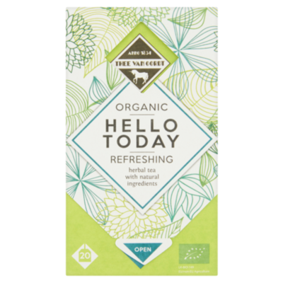 Thee Van Oordt Refreshing Herbal Tea 1-kops