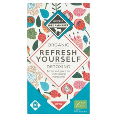 Thee Van Oordt Detoxing Herbal & Green Tea 1-kops