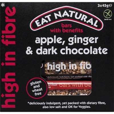 Eat Natural High in fibre apple-ginger-dark choco