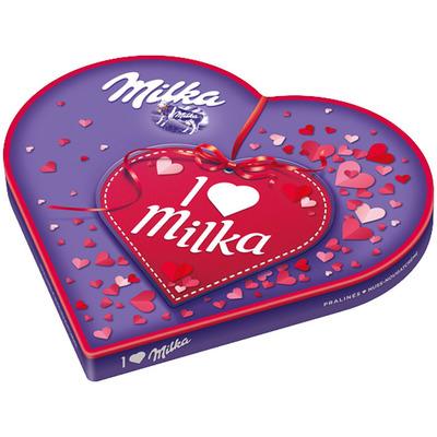 Milka Pralines I love milka crème
