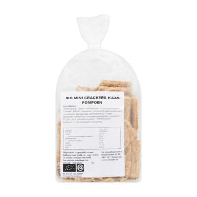 Smaakt Biologisch Mini Crackers Kaas Pompoen