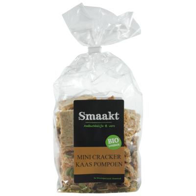 Smaakt Mini crackers kaas/pompoen