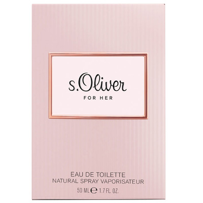 S. Oliver For her eau de toilette natural spray
